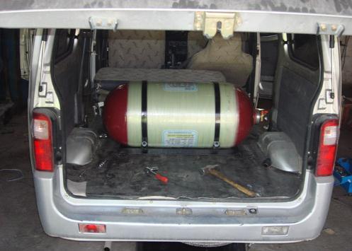 五菱之光面包车天然气改装