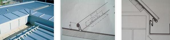 轻钢结构屋面系统,墙体结构